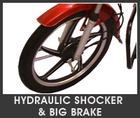 kyoto king plus hydraulic shocker big brake